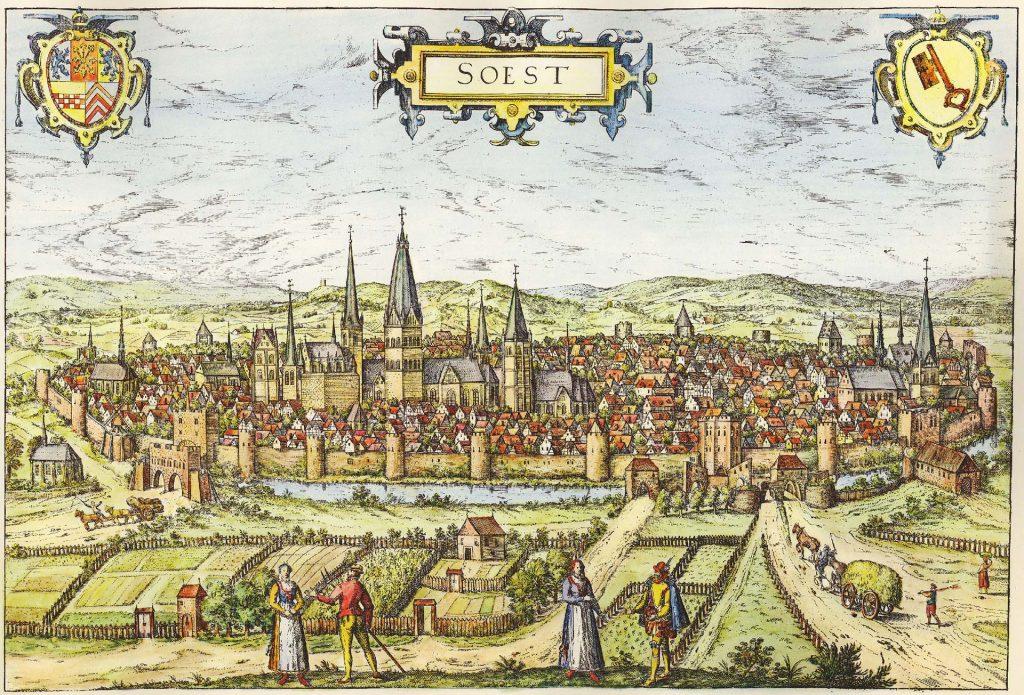 Die Stadt Soest im Mittelalter