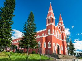 Die Metallkathedrale in Grecia, Costa Rica