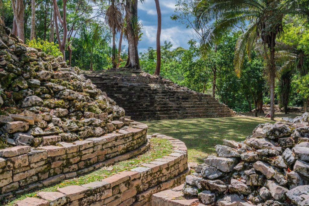 Lubaantun in Belize