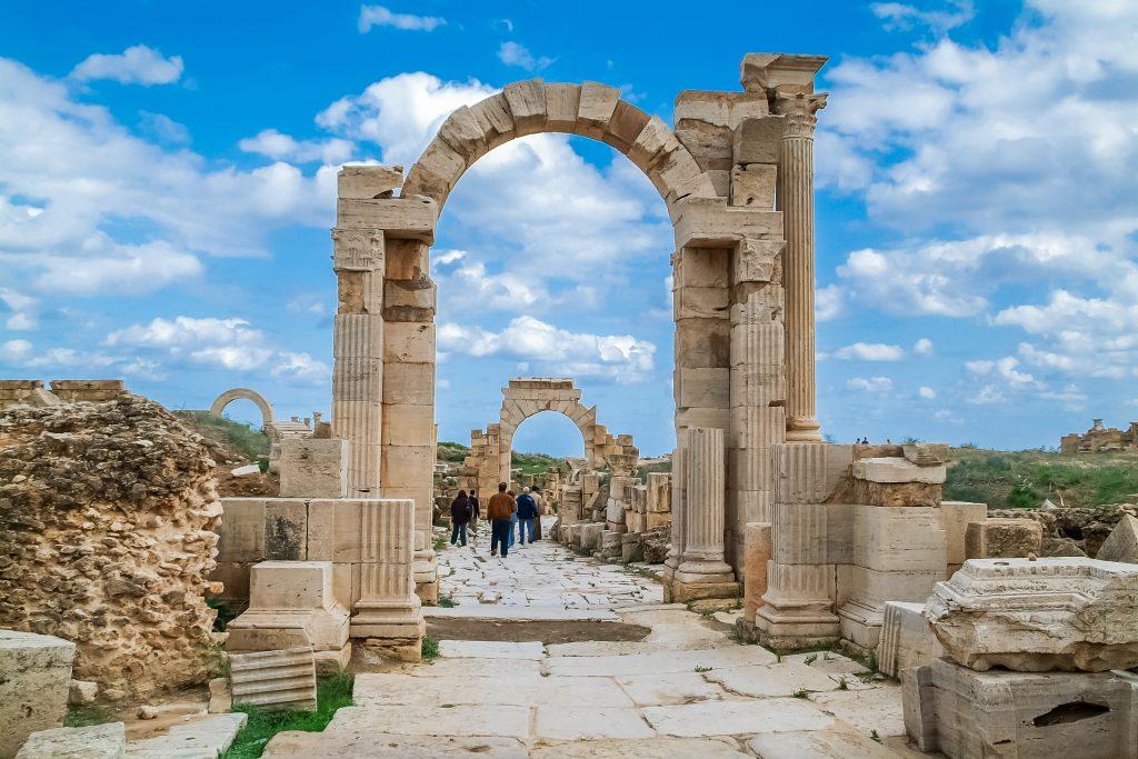 Trajansbogen in Leptis Magna