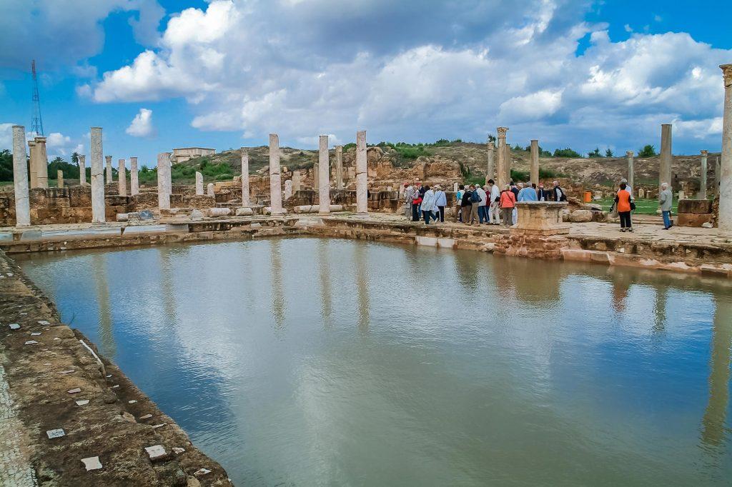 Hadrianische Bäder in Leptis Magna/Libyen