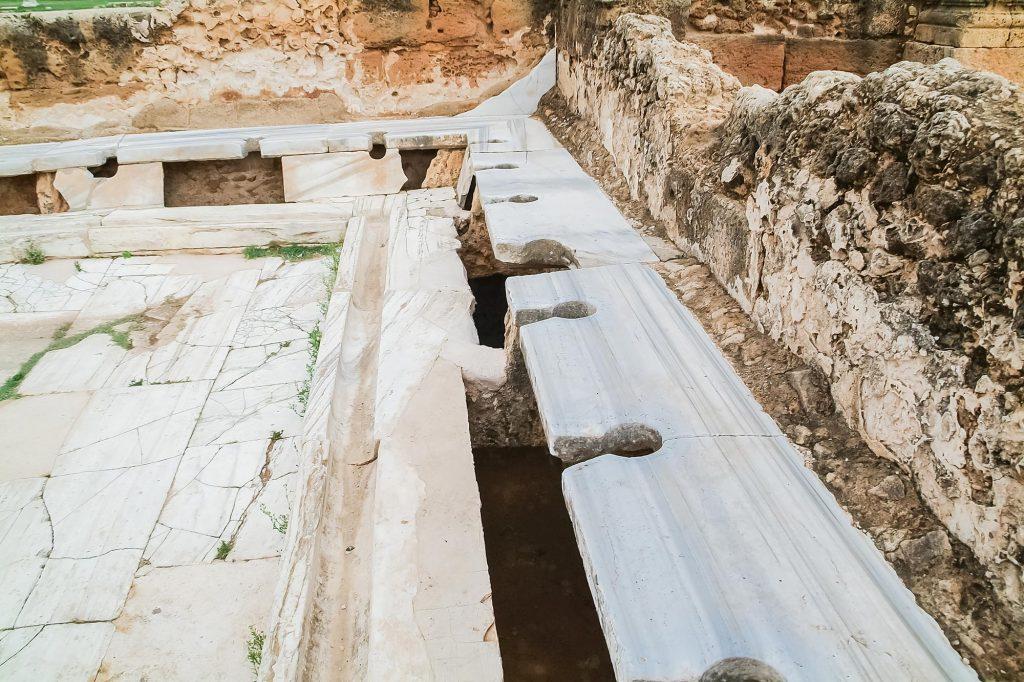 Latrine bei den Hadriansbädern