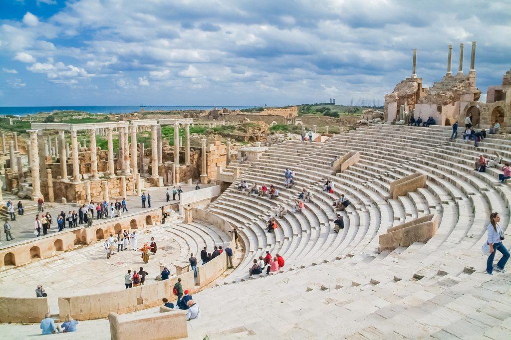 Theater von Lepcis Magna