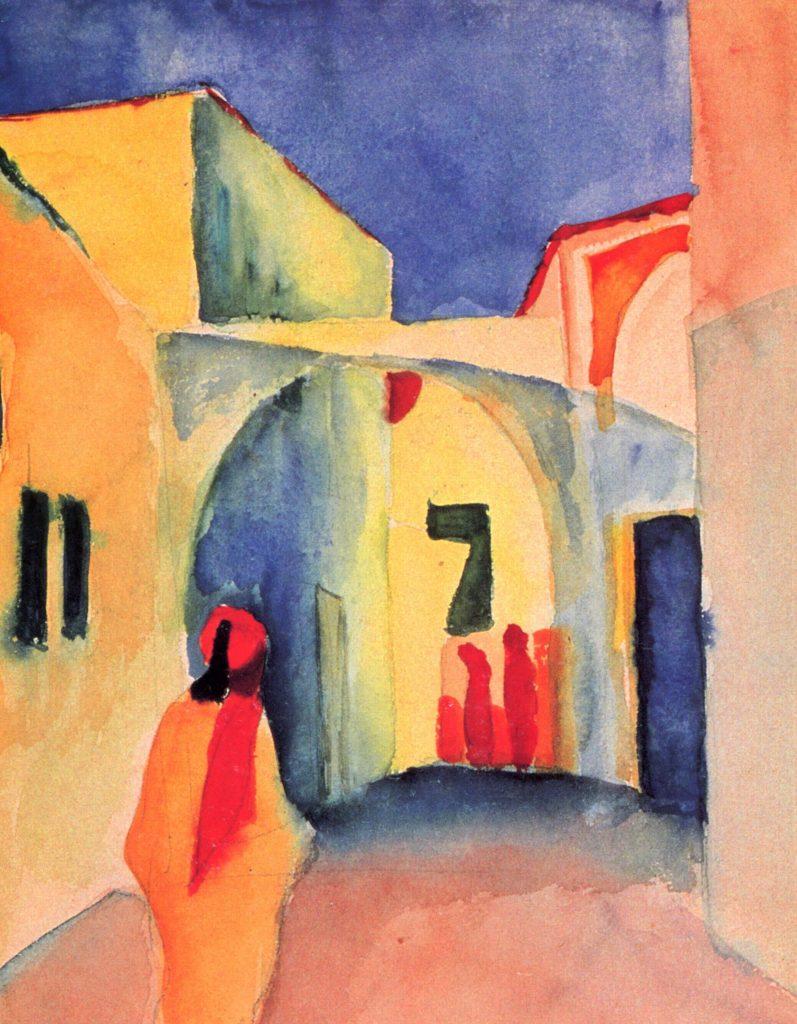 Tunisreise von August Macke 1914