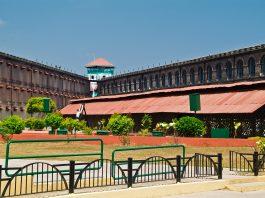 Im Cellular Jail Port Blair auf den Andamanen