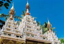Dachschmuck-im-Wat-Chaiyamancalaran-auf-Penang