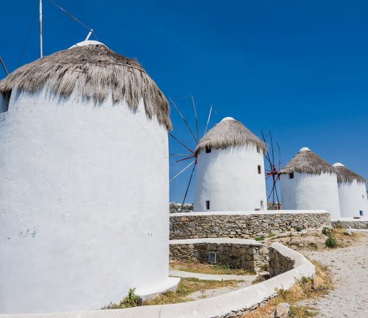 Kato Mili auf Mykonos