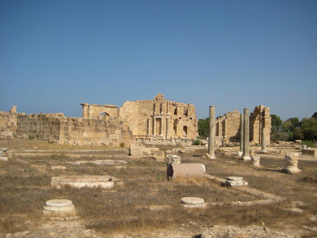 Das Nymphaeum in Leptis Magna