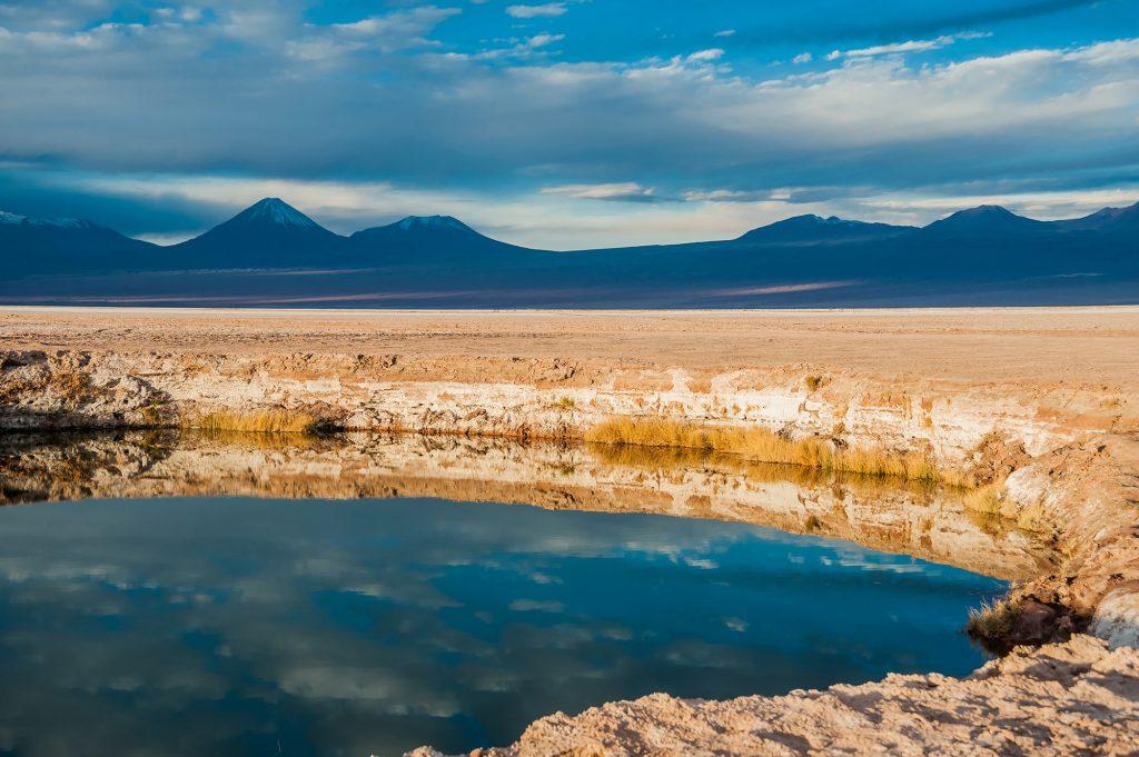 Ojos de Salar im Salar de Atacama