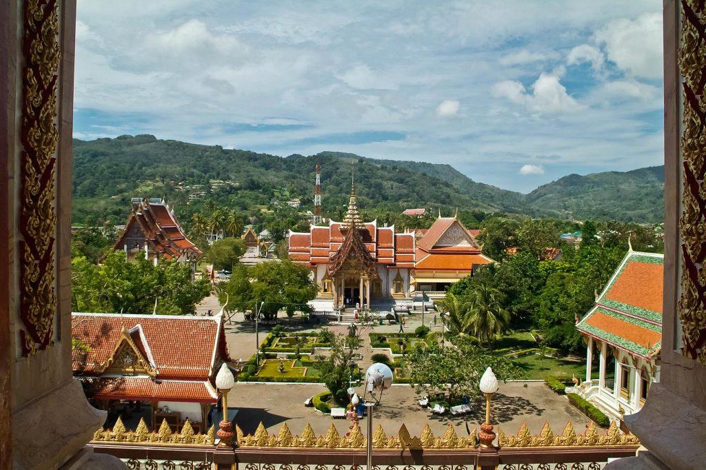 Das Wat Chalong auf Phuket