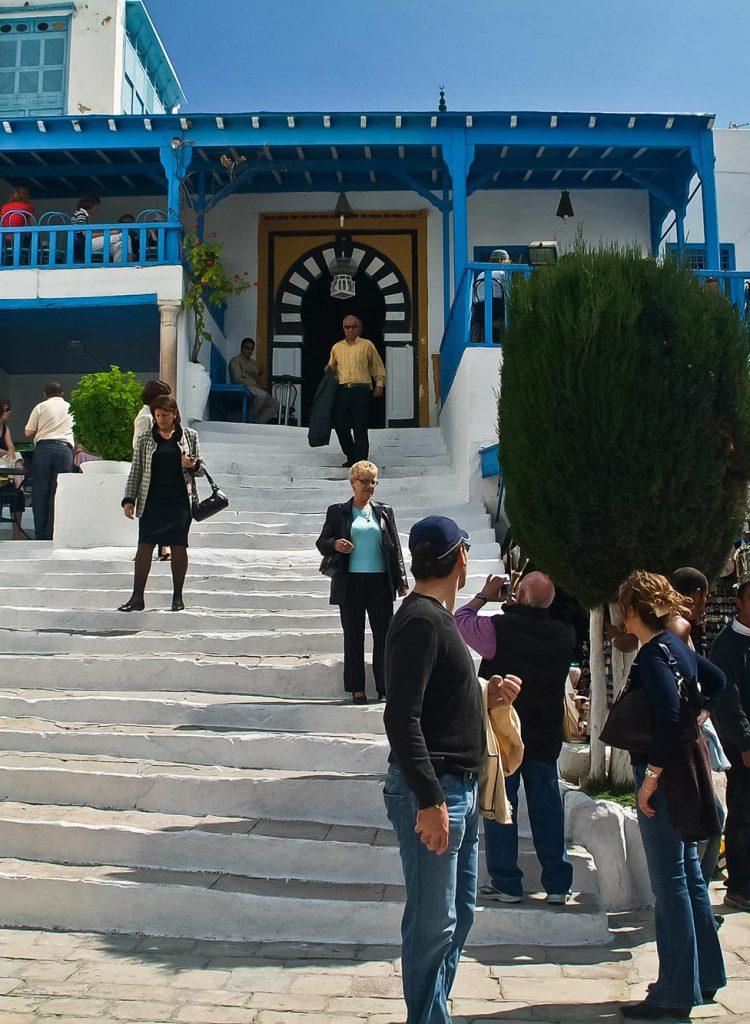 Café des Nattes in Sidi Bou Said