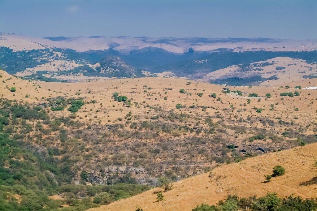 Landschaft nahe Salalah im Oman