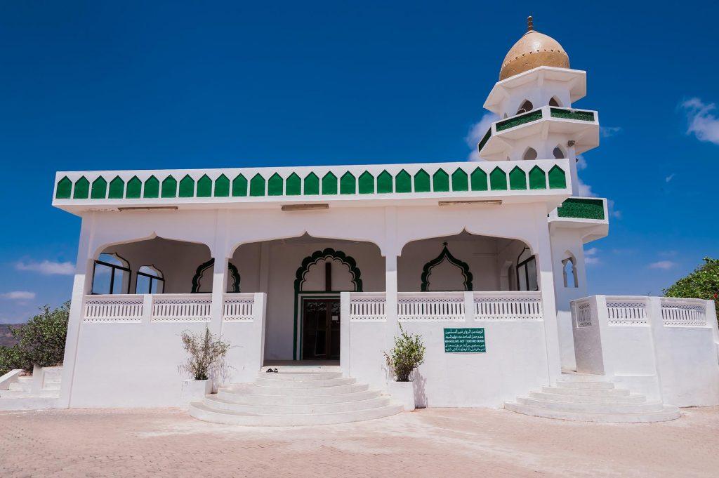 Moschee in der Pilgerstätte beim Grab Hiobs