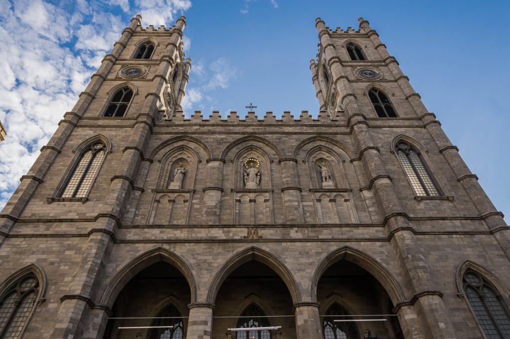 Basilika Notre Dame in Montreal