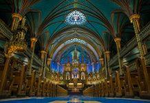 Basilika Unserer Lieben Frau in Montreal