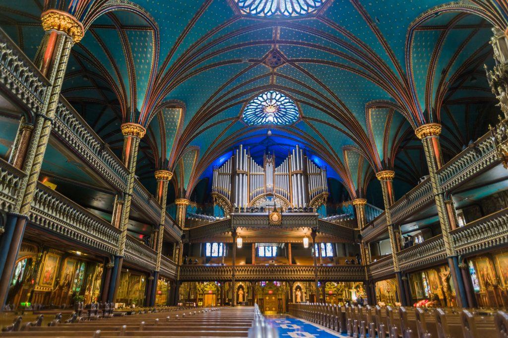 Casavant Frères Orgel in der Basilika Notre Dame in Montreal