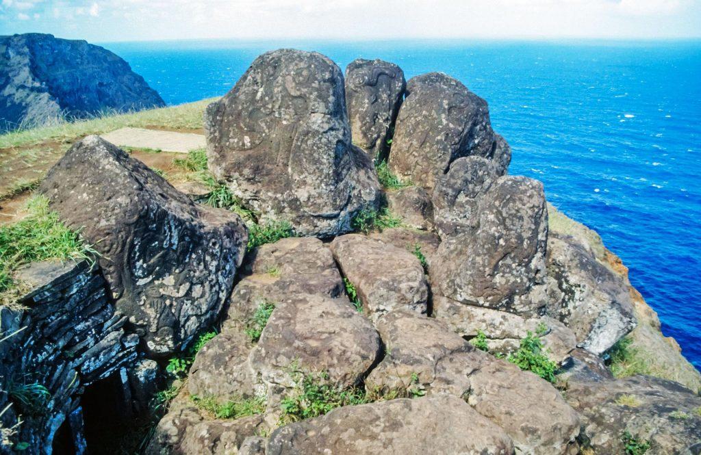Zeugnis des Vogelmann-Kults auf Rapa Nui