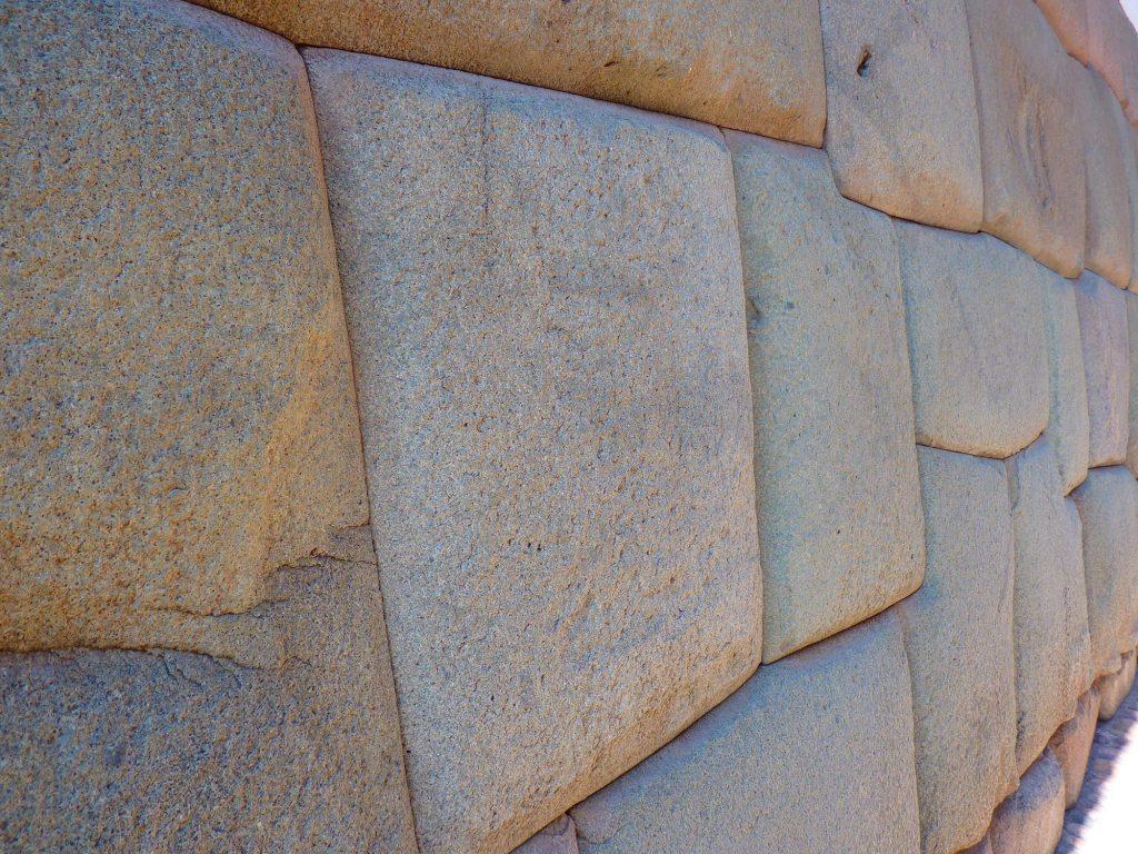 Inka-Mauer in der Stadt Cusco/Peru
