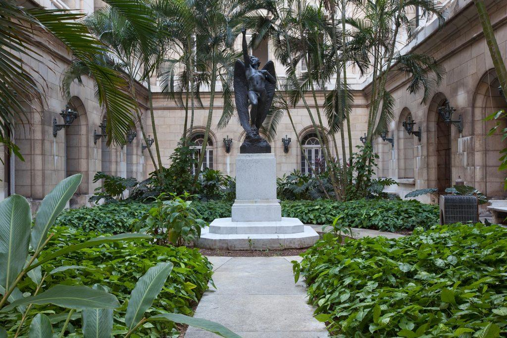 Innenhof im Kapitol von Havanna