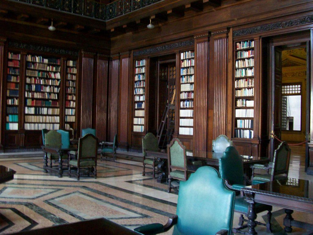 Bibliothek im Kapitol von Havanna