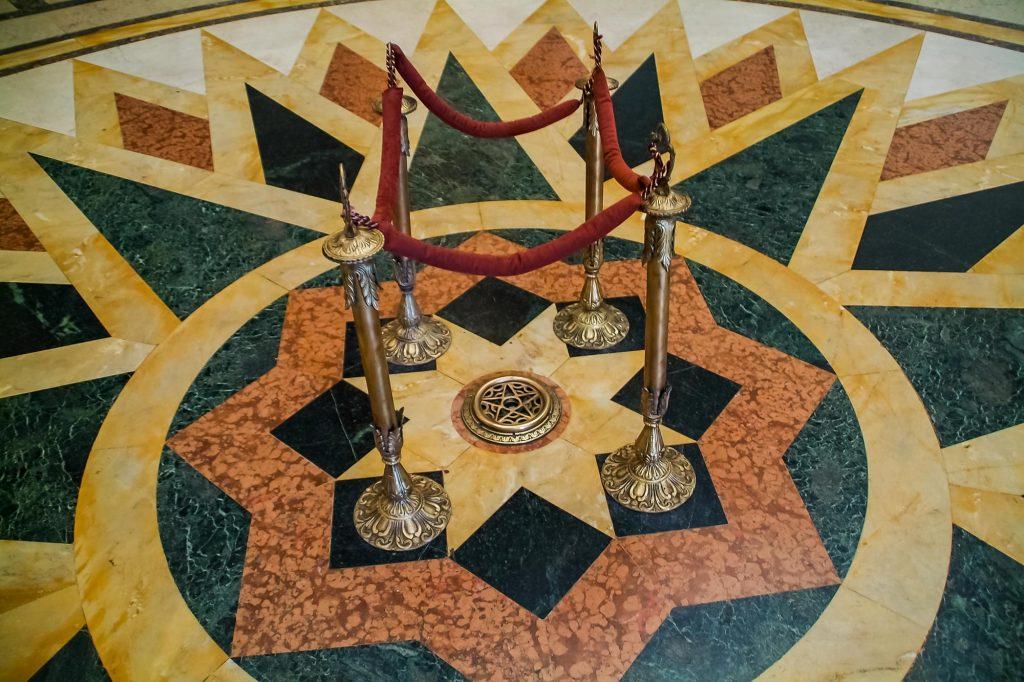 Der Stern von Kuba im Kapitol in Havanna
